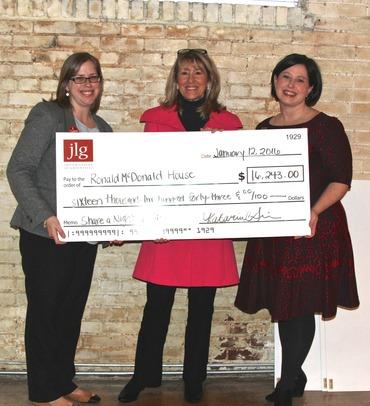 RMH Receives JLG Grant 2016